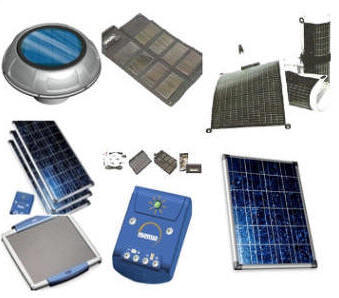 Solar panels for sale on line.  Photofraphs of solar panels.
